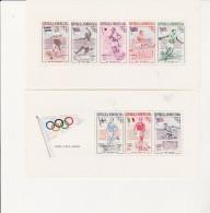 REPUBLIQUE DOMINICAINE -BLOC N+ 3 ET 4 NEUF XX - J.O. DE MELBOURNE  -ANNEE 1957 - COTE :25 € - Dominicaine (République)