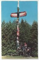 Indian Totem Pole, Cherokee, Iowa - Etats-Unis