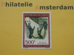 Congo Brazaville 1967, LIBERATION OF AFRICA: Mi 127, ** - Mint/hinged