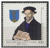 Germania/Germany/Allemagne: Filippo Melantone, Philipp Melanchthon - Teologi