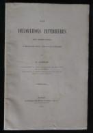 ( Le Croisic ) DECORATIONS INTERIEURES HABITATIONS PAYS GUERANDAIS A. GABEAU 1901 - Pays De Loire