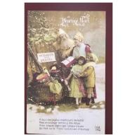 Heureux Noel  Messager Des Armées  Père Noel   DIX  314 - Natale
