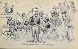 C.P.A. - Illustrateur : J.R. - Le Rêve De VICTOR - En Très Bon état - - Satirical