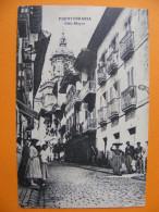 CPA Fuenterrabía / Hondarribia (Guipuscoa/España) - Calle Mayor - Guipúzcoa (San Sebastián)