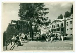 Anni '50, Vetriolo (Fraz. Di Levico Terme, Trento), Stabilimento Bagni, Animatissima, Non Comune Fotografica, FG VG 1949 - Italia