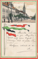 Balassagyarmat - Prince Rákócsi Street (Town Hall) - Hongrie