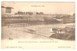 ANVERS  EN 1866   ----   Entrepôt, Côté Nord Extérieur   ---   Actuellement Place St.-Jean - Antwerpen