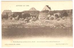 ANVERS  EN 1866  -- Porte Kipdorp En Démolition, Nord  -- Actuellement Place De La Commune - Antwerpen