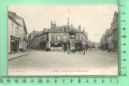 REIMS: Les Six Cadrans Et La Rue Gambetta - Reims