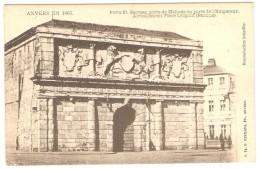 ANVERS  EN 1865  --  Porte St.Georges,porte De Malines Ou Porte De L'Empereur - Actuellement Place Léopold ( Banque ) - Antwerpen
