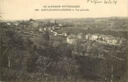 - Depts Div.- Ref- GG944 - Haute Vienne - Saint Sulpice Lauriere - St Sulpice Lauriere - Vue Generale - Gare - Train - - France