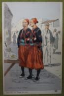 ZOUAVES - Tenue De Ville - Belle Carte Aux Coloris Illustrée Par Maurice TOUSSAINT - Comme Neuve - Uniformes
