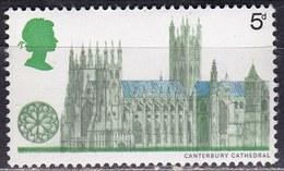 Gran Bretagna, 1969 - 5p Canterbury - Nr.592 MNH** - Ungebraucht