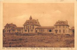 78-LES CLAYES-SOUS-BOIS- HÔTEL DE VILLE ET GROUPE SCOLAIRE - Les Clayes Sous Bois