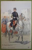 ZOUAVES - Chef De Bataillon - Belle Carte Aux Coloris Illustrée Par Maurice TOUSSAINT - Comme Neuve - Uniformes