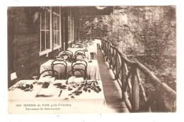 CPA 74 ANNECY ( Environs ) GORGES Du FIER Terrasses Du Restaurant - Annecy