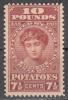 United States    Scott No.  RI 6   Unused Hinged      Year 1935 - United States