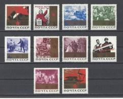 RUSSIE . YT 2943/2952 Neuf **/*  20e Anniversaire De La Victoire  1965 - 1923-1991 URSS