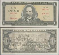 1986-BK-1 CUBA 1$ JOSE MARTI UNC 1986 PLANCHA - Cuba