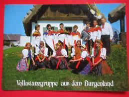 H3-Postcard-Volkstanzgruppe Aus Dem Burgenland - Europe