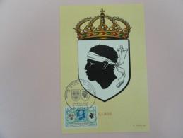 CARTE MAXIMUM CARD CORSE AVEC OPJ - 1960-69
