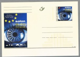 Belgien 2002 **  Ganzsachenkarte Salon Auto - Automobili