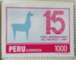 Peru 1984 1985  MH*  # 830 - Peru