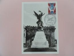 CARTE MAXIMUM CARD VERDUN AVEC OSI - 1960-69