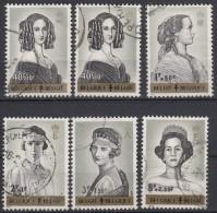 BELGIË - OBP - 1962 - Nr 1233/38 - Gest/Obl/Us - Belgique