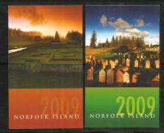 Calendriers De Poche Année 2009, De L´île Norfolk (Pacifique Sud) état Neuf - Kalender