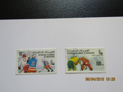 JO145   Olympiques  Lake Placid Olympic Games  Mauritanie - Hiver 1980: Lake Placid