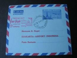 == Thailand  Fligt Aerogramme , By Sieger  1967 - Thailand