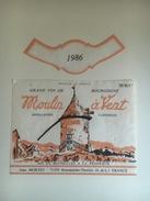 884 - Moulin à Vent Jean Mortet 1986 - Bourgogne