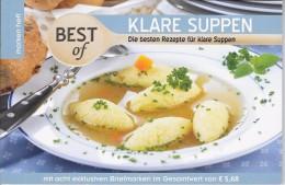 Boekje  Met Recepten 8 Excl.zegels Bouillon Soepen - Autriche