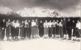 SLOVAKIA - Tatry Skiing - Real Photo Postcard - Foto Hegedus - Lipt. Sv. Mikulas - Strbske Pleso - Slovaquie