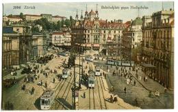 Zürich Und Die Alpen Fotokarte Um 1930 - ZH Zürich
