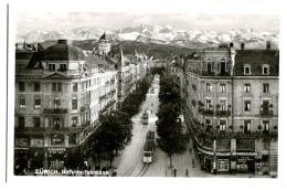 Zürich Bahnhofstrasse Shops: Cigarren / Auswanderung / Spedition Fotokarte C. 1925 - ZH Zürich