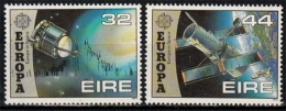 Irland MiNr. 759/00 ** Europa: Europäische Weltraumfahrt - 1949-... République D'Irlande