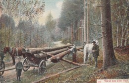 GERMANY - Gruss Aus Dem Harz 1910 - Sanct Andreasberg Cancel - Bad Harzburg