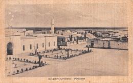 "04412 ""LIBIA - SOLUCH - CIRENAICA - EX COLONIA - PANORAMA""  CART. SPED 1936 - Libya"