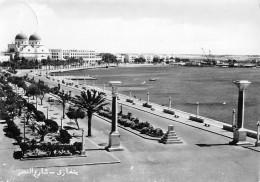 """04414 """"LIBIA - BENGASI - VIA EL NASR"""" AUTO.  VERA FOTOGRAFIA. CART. SPED 1960 - Libya"""