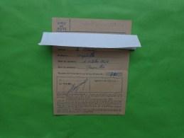 Carte D'electeur 1955 Commune De ..... - Cartes
