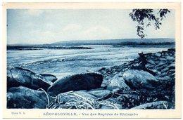 CPA CONGO BELGE  ( Afrique ) LEOPOLDVILLE - Vue Des Rapides De Kintambo - Kinshasa - Léopoldville
