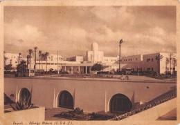 """04416 """"LIBIA - TRIPOLI - ALBERGO MEKARI (E.T.A.L.)"""" ANIMATA. CART. SPED 1950 - Libia"""