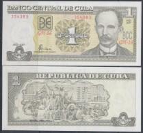 2007-BK-1 CUBA 1$ JOSE MARTI UNC PLANCHA - Cuba