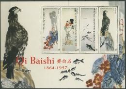 Nevis 2007 50. Todestag Von Qi Baishi Kleinbogen 2238/41 K Postfrisch (SG12246) - Briefmarken