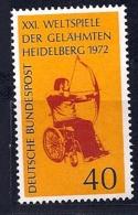 Allemagne -RFA -YT 579** - Handisport