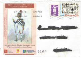 FRANCIA - France - 2008 - 0,50 Marianne De Briat-Jumelet + Médecins Sans Frontières - 1804-2004 Boulogne Sur Mer Légi... - Francia