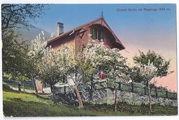 PASSUGG: Chalet Grida Im Frühjahr 1937 - GR Grisons