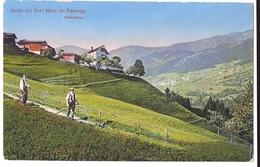 PASSUGG: Grida Mit Dorf Malix ~1910 - GR Grisons